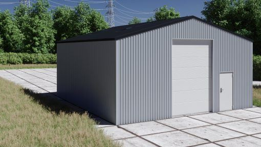 Storage building H910-40 non-insulated