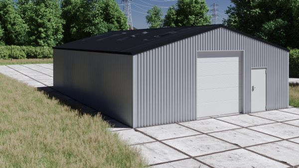 Storage building H1013-30 non-insulated
