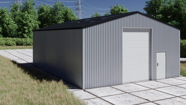 Storage building H1013-40 non-insulated