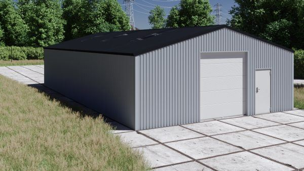 Storage building H917-30 non-insulated