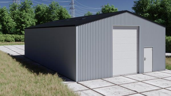 Storage building H1017-40 non-insulated