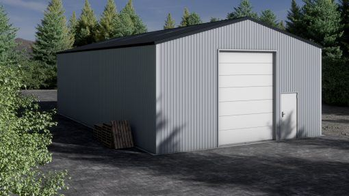 Storage building H917-44 non-insulated
