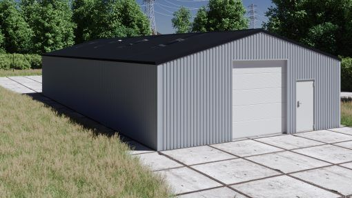 Storage building H1020-30 non-insulated