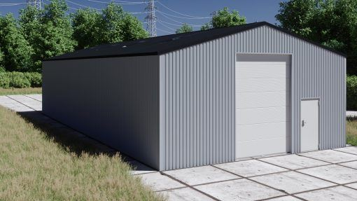 Storage building H1020-40 non-insulated