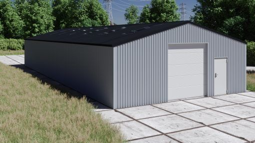 Storage building H923-30 non-insulated