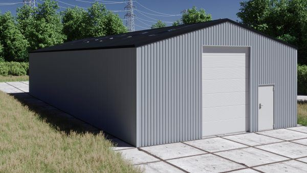 Storage building H1023-40 non-insulated