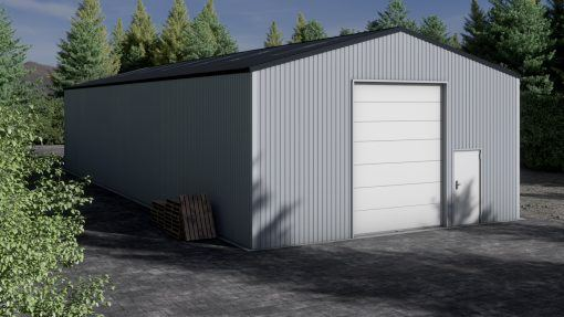 Storage building H923-44 non-insulated