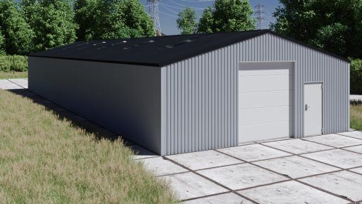 Storage building H1026-30 non-insulated