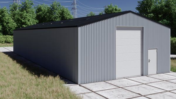 Storage building H1026-40 non-insulated