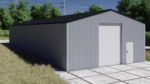 Storage building H1030-40 non-insulated