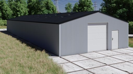 Storage building H1033-30 non-insulated