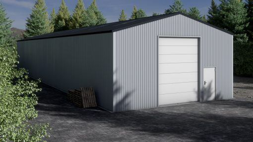 Storage building H933-44 non-insulated