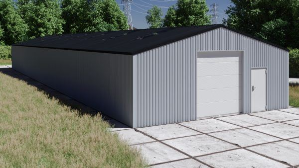 Storage building H936-30 non-insulated
