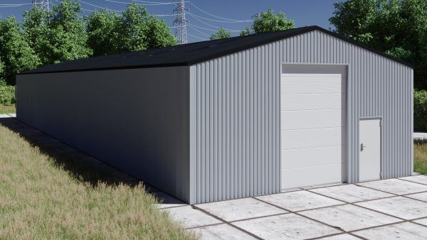 Storage building H1036-40 non-insulated