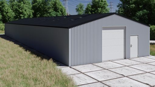 Storage building H1040-30 non-insulated