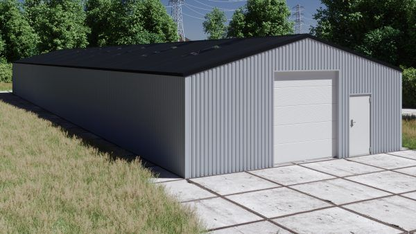Storage building H940-30 non-insulated