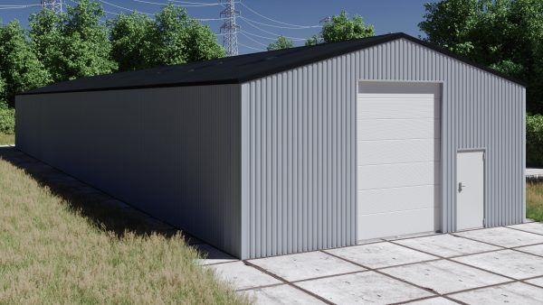 Storage building H1040-40 non-insulated