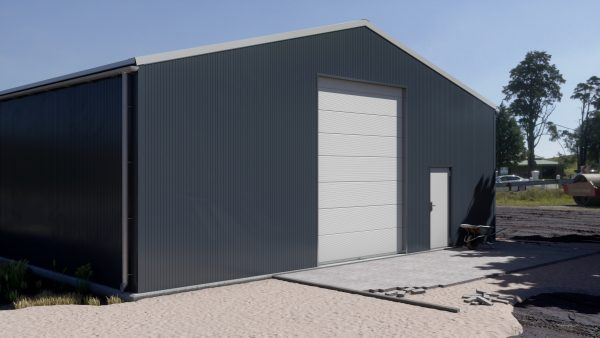Storage building H1130-40 insulated