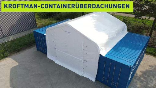 Containerüberdachung TC606