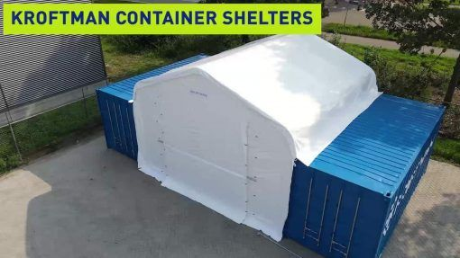 Container shelter TC606