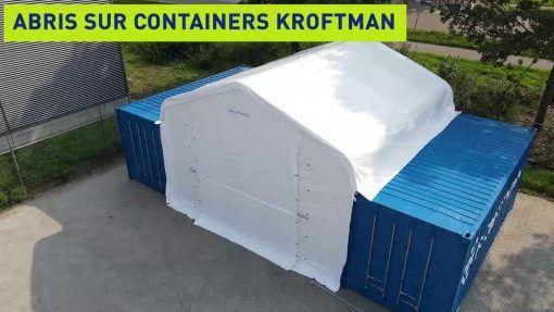 Abri sur containers TC606